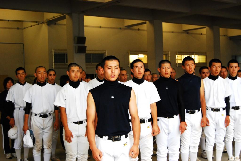 主将 梅木君(33期)、他選手一同