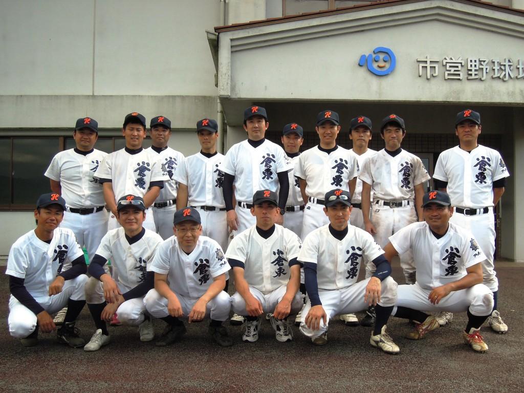 第7回九州高校OB野球選手権大会参加メンバー