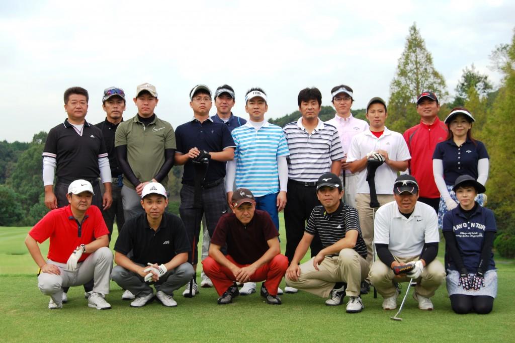 第1回Golfコンペ集合写真